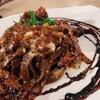 ビストロ よりみち - 料理写真:[期間限定]自家ベーコンとラグーソース カカオ風味パスタ
