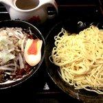 紅丸 - 炒め野菜つけ麺!(2012,09/01)