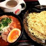 紅丸 - 肉つけ麺(辛味噌)!(2012,09/01)