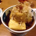 遊友 - 揚げ出し豆腐 500円