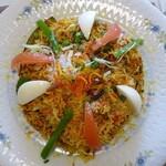 プリンス インドレストラン - 料理写真:チキンビリヤーニ