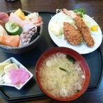 きんめ屋 - 下田海鮮丼セット