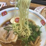 餃子の王将 - 麺リフト(2020.12.25)