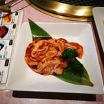 焼肉 徳寿 - ハーフ味噌ホルモン