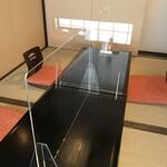 サラザン - 完全予約個室パーテーション設置しました/2〜4名様まで/コース¥5,500〜7,700/個室サービス料10%