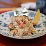 大黒寿司 - 料理写真:毛蟹(むき身半分)