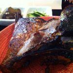 薮原十区 - 焼魚(目鯛醤油漬)