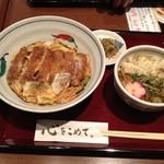 博多綱場町そば茶屋華元 - 温かい蕎麦セット