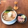 青森中華そば オールウェイズ - 料理写真:塩煮干しわんたん麺と煮干し〆ご飯