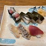 一朗 - 寿司盛り合わせ