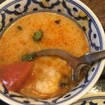メナムのほとり - トムヤムクンスープ