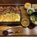 souiwashokunomura - 和牛ステーキ重(並)