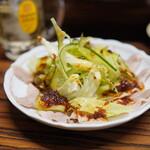 八仙 - うす切豚ニンニクソース