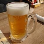 146085650 - 生ビール大 (モルツ)