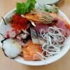 おかもと鮮魚店  - 料理写真:なんかいっぱいの海鮮丼