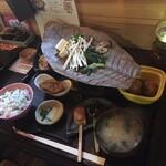 お寺 - 朴葉お寺ランチ1,540円