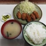 とんかつ美よし - 料理写真:カイフライ定食