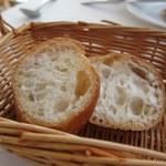 ナポリ、アマルフィ料理 Ti picchio - パン
