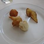 ナポリ、アマルフィ料理 Ti picchio - 前菜3種