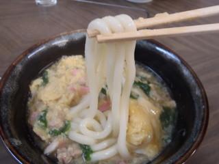 ふけた食堂 - 麵アップ