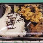 中華太朗 - 料理写真:【テイクアウト】600円弁当(豚肉と玉子のピリ辛炒め)