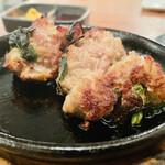 クラフトビアサーバーランド - 牛肉とニラのシンプルな料理!