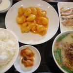 1461319 - エビマヨ豚骨台湾ラーメン定食