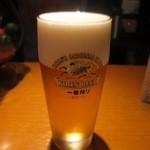 だるまときんぎょ - 生ビール