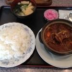 キッチン レンガ - ハヤシビーフ定食 980円