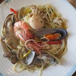 和食処 潮騒 - 料理写真:シーフードパスタ