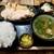 佐賀県三瀬村ふもと赤鶏 - チキン南蛮定食・ご飯大盛(950円)