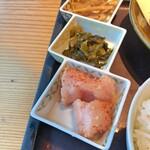 博多もつ鍋 やまや - 辛子明太子 & からし高菜