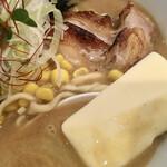 らぁめん 欽山製麺所 - 味噌バタだよ〜