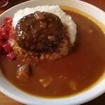 ローレル - 料理写真:ハンバーグカレー