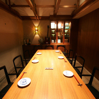 和の趣のある完全個室空間で大人の時間を!