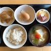 おっぽに亭こっこ - 料理写真:卵かけごはん「鶏汁」定食
