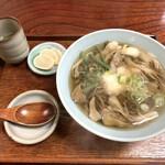 彦兵衛 - 料理写真:舞茸そば