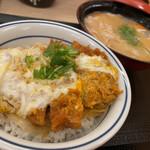 かつや - カツ丼(梅)