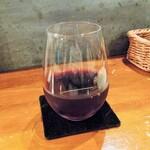 あおぞら コーヒー ダイニング - 赤ワイン