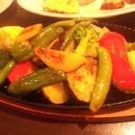 14612278 - 野菜鉄板焼き