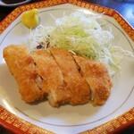 金町製麺 - トンカツ