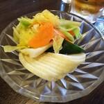 金町製麺 - 漬物