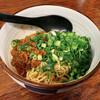 焔屋 - 料理写真:青(山椒入り汁なし担々麺)