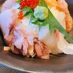 三ノ汁 - 鯛とアジのたたき♡