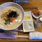ベアーズキッチン - 料理写真:クリーミーたらこうどん(1,078円)