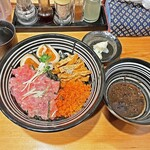 鮮魚鶏出汁麺 沢むら - 「ちらし麺 竹」¥920