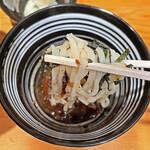 鮮魚鶏出汁麺 沢むら - つけダレ