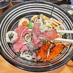 鮮魚鶏出汁麺 沢むら - マグロの中落ち