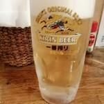 河北や - 生ビール650円