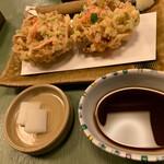 蕎麦わび介 - かき揚げ単品